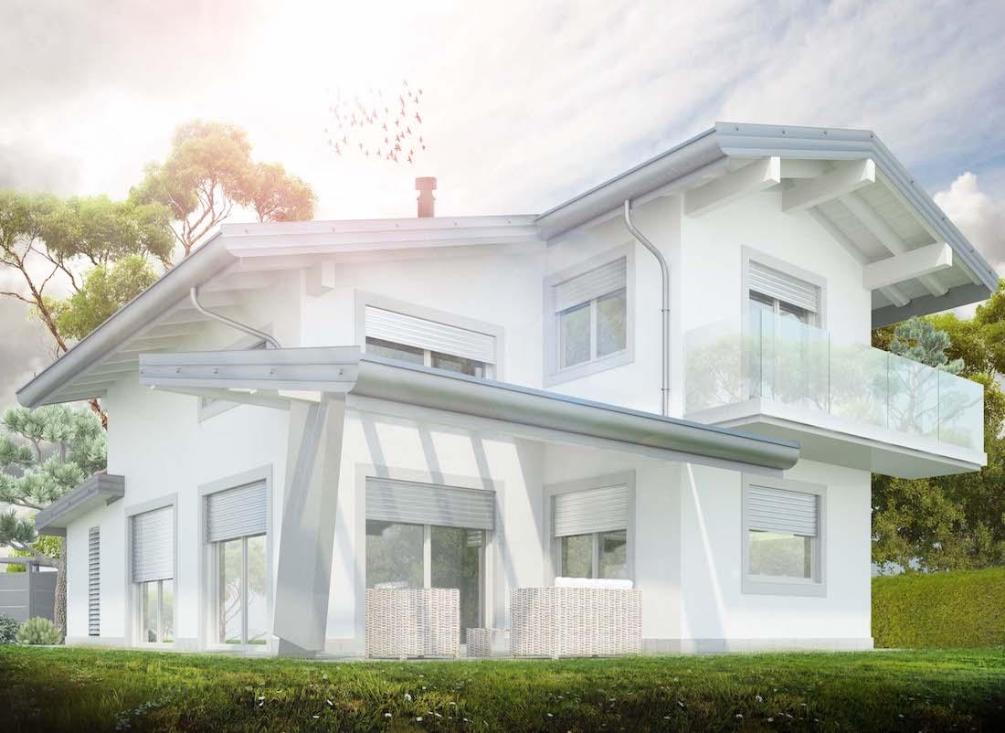 Progettazione Casa In Legno : Progetto casa in legno ad abbiategrasso novità