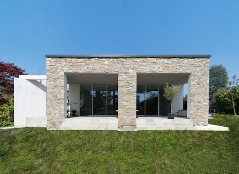 Casa in legno in stile moderno for Stile moderno casa