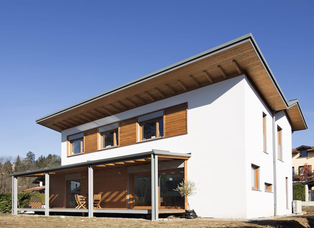 Casa varese casa prefabbricata in legno - Casa ecologica prefabbricata prezzi ...