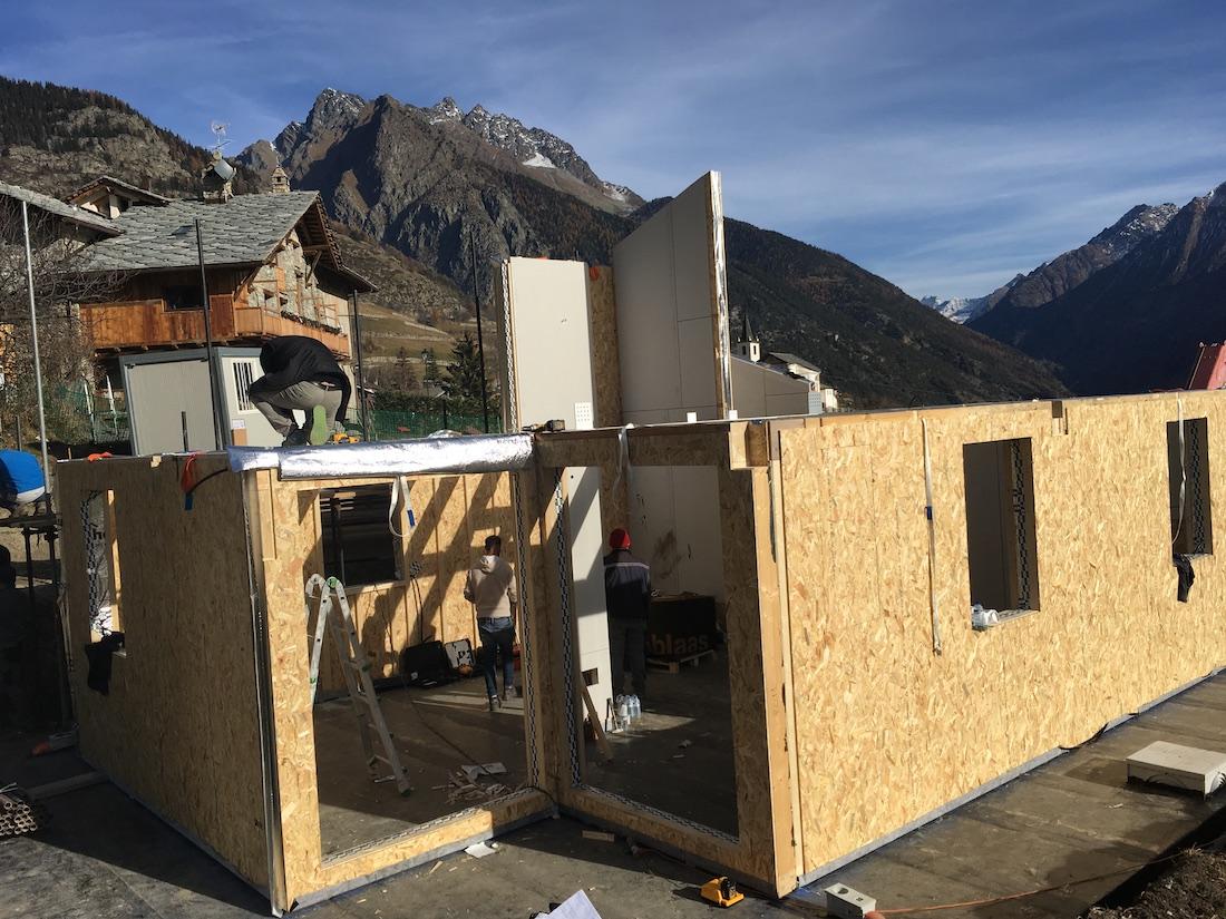 Ufficio Casa Aosta : Nuova casa in legno in valle d aosta novità