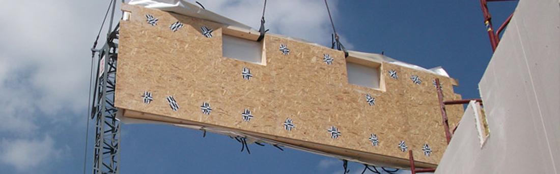 Soluzioni costruttive case in legno prefabbricate for Strutture prefabbricate in legno