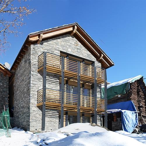 Tutti i progetti case di paglia casa rh - Casa in legno economica ...